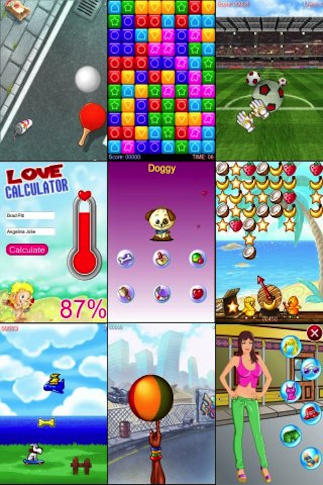 Sports. 102 Games, 21 Virtual Pets, 18 Apps and 10 Dress Up. This
